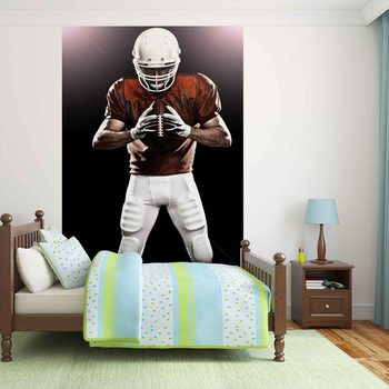 American Football Player Fototapet
