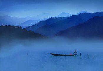 An Evening In Mountains Fototapet