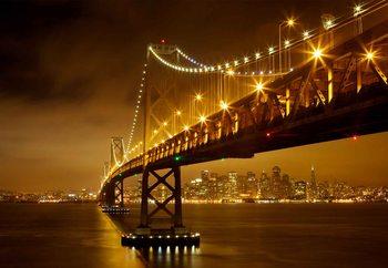 Bay Bridge Fototapet