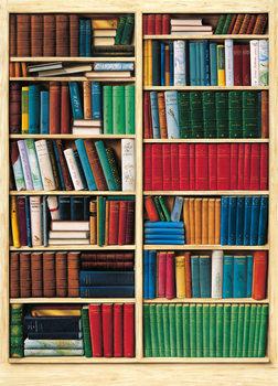 Bibliotek  Fototapet