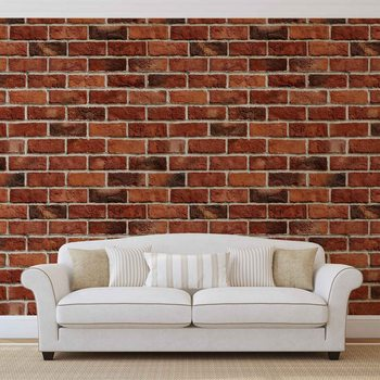 Brick Wall Fototapet