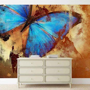 Butterfly Art Fototapet
