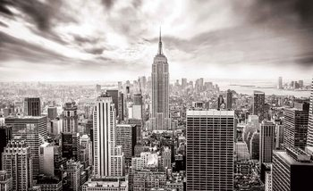 City Skyline Empire State New York Fototapet
