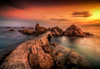 Costa Brava Fototapet