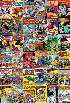 DC Comics Covers Fototapet