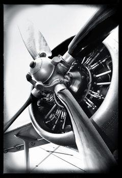 Flyvemaskine Fototapet