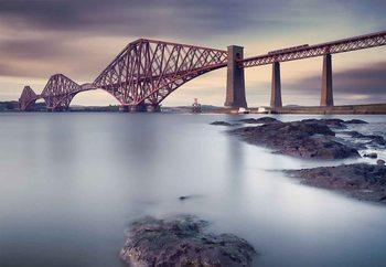 Forth Rail Bridge Fototapet