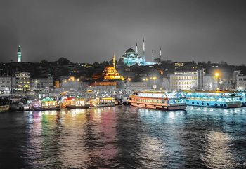 Istanbul From The River Fototapet
