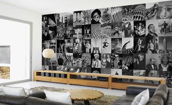 Life - black and white Fototapet
