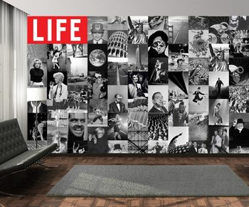 Life - black and white Fototapet