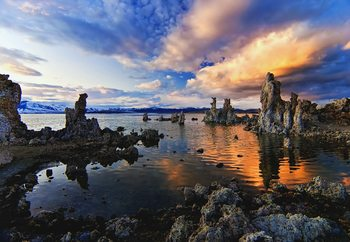 Magical Mono Lake Fototapet