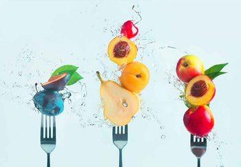 Making Fruit Salad Fototapet