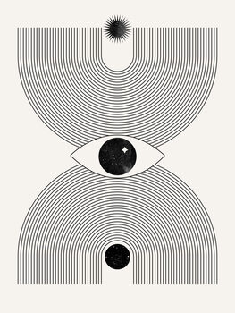 Mystical eye Fototapet