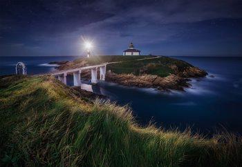 Nightscape In Isla Pancha Fototapet