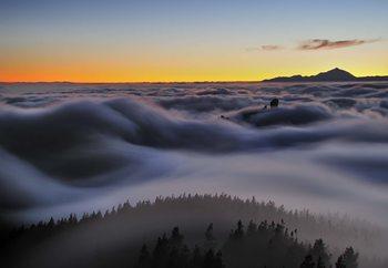 Ocean Of Clouds Fototapet