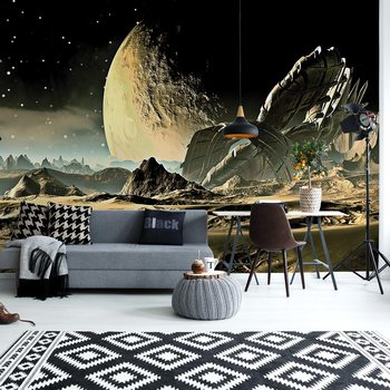 Planets Galaxy Outer Space Fototapet