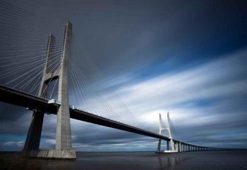 Ponte Vasco Da Gama Fototapet