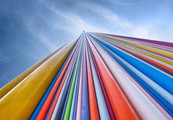 Rainbow From A Cloud Fototapet