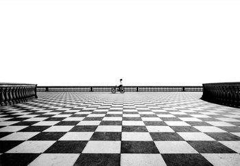 Real Chess Fototapet