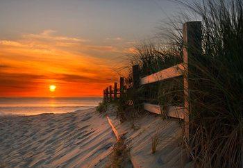 Sandbridge Sunrise Fototapet