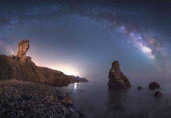 Sea Of Galaxies Fototapet