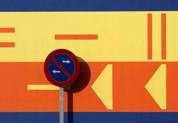 Signs Fototapet