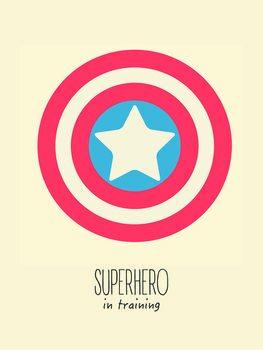 superheorin training Fototapet
