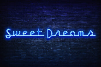 Sweet dreams Fototapet