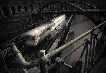 The Fast Line Fototapet
