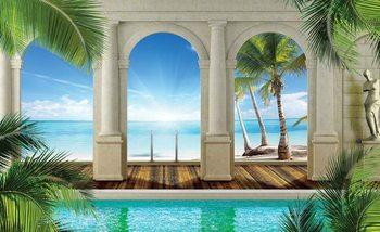 Tropical Beach Fototapet