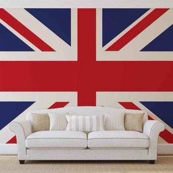Vlajka Velké Británie Fototapet