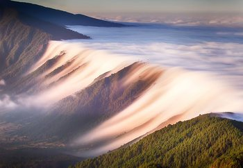 Waterfall Of Clouds Fototapet