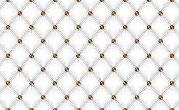 White Pattern Checkered Fototapet