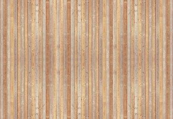 Wood Planks Light Colour Fototapet