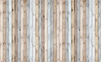 Wood Planks Texture Fototapet