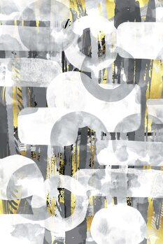 Fototapeta Abstract Painting No. 58   Play with shapes and colors