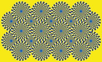 Abstrakcja iluzja Fototapeta