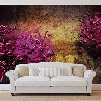 Abstrakcyjny kolorowy kleks Fototapeta