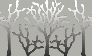 Abstrakcyjny obraz drzewo Fototapeta