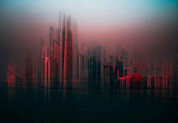 Fototapeta  Abu Dahbi Skyline