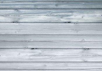 Białe deski Fototapeta