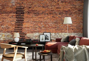 Fototapeta  Brick Ladder