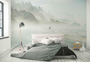Fototapeta Catching The Morning Surf