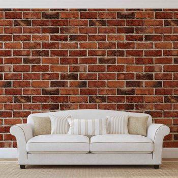 Ceglana ściana Fototapeta
