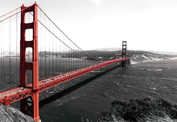 City Golden Gate Bridge Fototapeta