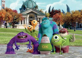 Disney Monsters Inc Fototapeta