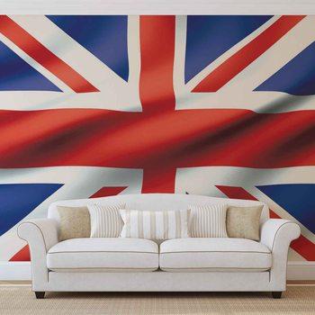 Flaga Wielkiej Brytanii Fototapeta