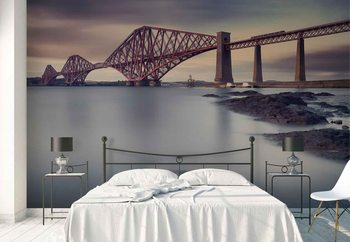 Forth Rail Bridge Fototapeta