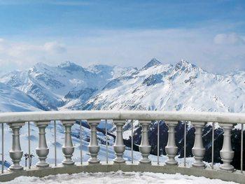 Górski krajobraz Fototapeta