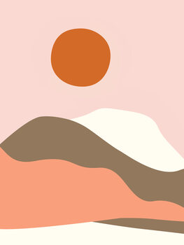 Fototapeta Graphic Desert